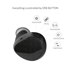Amazon.com: Cobble Pro True Wireless Earbuds Bluetooth V4.1 In-Ear Earphones, Mini Twins Headphone Headset with Mic & Charging Carrying Case, Noise Cancelling & Sweatproof for iPhone 7 Plus/ Galaxy S7 Edge, Black: Musical Instruments
