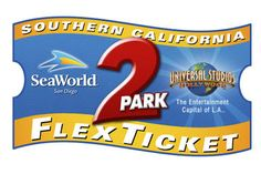 Save $22.50 with Southern California 2-Park Flex Ticket at SeaWorld and Universal Studios Hollywood