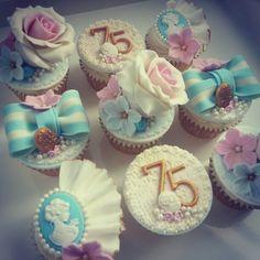 Vintage Tea Party Cupcakes - Beanie's Bakery