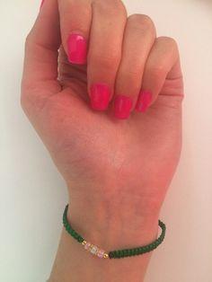 Mein Grünes Armband von ! Größe  für 1,50 €. Sieh´s dir an: http://www.kleiderkreisel.de/accessoires/armbander/155376723-grunes-armband.