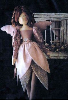 Lovely Sweet Dreams Bed Time Fairy Doll Sewing Pattern~Wonderful to Cuddle in Crafts   eBay