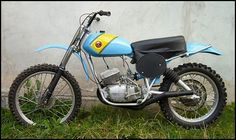 Vintage CZ Dirt Bike. One of their early motocross Racers.