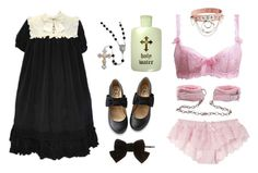 """innocent"" by lolita-sarif ❤ liked on Polyvore featuring Dorothy Perkins and Lake"
