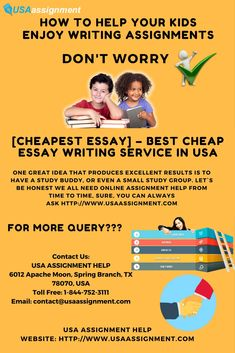 Looking for you reliable and cheap essay writing service? USA Assignment Help is an online Essay writing service that remove entire your problems you face during your academic progress. Affordable essay help is now made possible by our versatile writers, who compose different types of essays depending on the need of the customer.