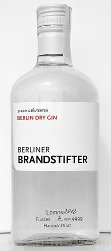 Berliner Brandstifter - Berlin Dry Gin