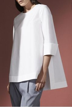 design of blouse Trending Shirts Blouses from 51 of the Sexy Shirts Blouses collection is the most trending fashion outfit this season. This Shirts Blouses look related to blouse, lafa Casual Work Outfits, Mode Outfits, Work Casual, Fashion Outfits, Fashion Tips, Fashion Ideas, Fashion Shirts, White Casual, 90s Fashion