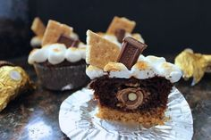 Ferraro Roche stuffed cupcakes - is there anything better than this?