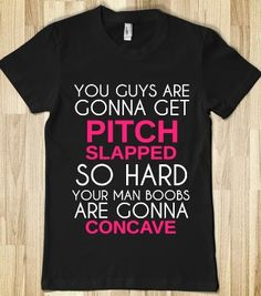 Pitch Slapped Pitch Perfect Funny Humor