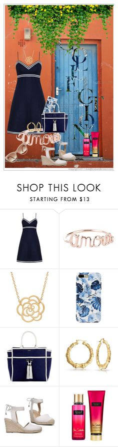 """In the sun"" by krissel1 on Polyvore featuring moda, Zimmermann, Lord & Taylor, Melissa Odabash, Franco Sarto, Victoria's Secret, summerstyle, fashionset, rosegal y summer2017"
