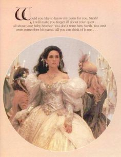 Is the text from the novelization? Or a deleted scene maybe? Labyrinth, 1986.