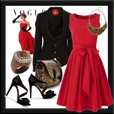 Pasion Red, and elegance black