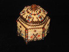 Peyote stitch box!