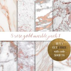 Rose gold marble digital paper, Rose gold marble paper, rose gold glitter, gold marble, Rose marble, Copper marble, marble commercial use