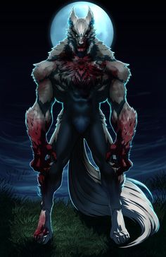 WereWolf: Male Base by FooRay on DeviantArt