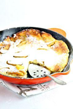 Apple Cinnamon Dutch Baby Pancake
