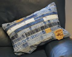 Hand-Sewn-Recycled-Jeans-Denim-Patchwork-Cushion-Cover-58x40cm-Ref-Belts