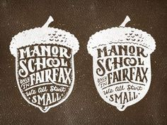 Manor acorn by Joel Felix.: