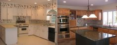 Before and After Interior Design Projects for Kitchens New York | Susan Marocco Interior Designer Westchester New York