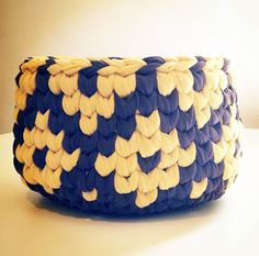 Crochet basket - idea
