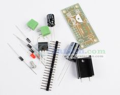 L7805 Step Down 7.5V-35V to 5V DIY Kit Power Supply Module  http://www.icstation.com/product_info.php?products_id=2711