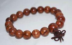 Vietnamese Lime Bodhi Mala Bracelet / by BohoBeachJewelry on Etsy, $12.00