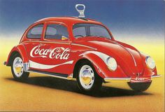 Coca Cola Beetle by mrsris, via Flickr https://www.facebook.com/pages/Coca-Cola-GREEN/391776144242711