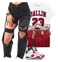 """Ballin"" by christianna-futrell ❤ liked on Polyvore featuring Retrò"