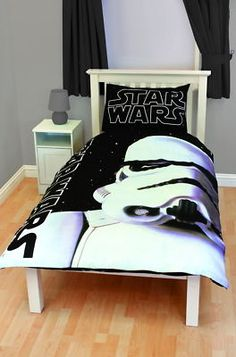 78e474371ff Star Wars Storm Trooper Single Duvet Cover Bedding Set