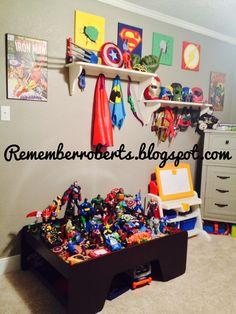 Ultimate super hero room