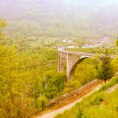 Tara river bridge. Montenegro.