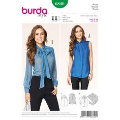 Patron Blouse Burda n°6840