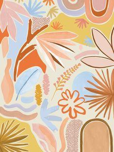 Mosey Me Desert Art Print - Cream