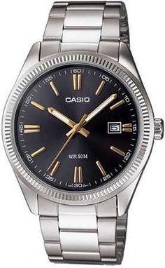 Casio Erkek Kol Saati | MTP-1302D-1A2VDF Çelik kasa ve kordona sahip, siyah ve yuvarlak kadranlı, 50 metreye kadar su geçirmez #saat #kolsaati #masasaati #erkeksaatleri #kadinsaatleri #dijitalsaat #cocuksaatleri #unisexsaatler #watch #akillisaatler #smartwatch #clock #aksesuar #casio #Satacak