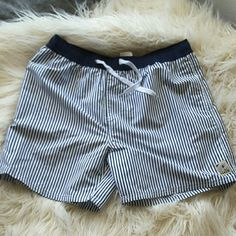 NWOT Island Haze Mens Boardshort Swimwear NWOT blue and white striped swim shorts. XXL. Were too small for him and we already threw out the tags to return them.. Island Haze Swim