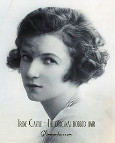 The hair revolution took off so much that Scott Fitzgerald, the author of the Great Gatsby, wrote a short story called Bernice bobs her hair which tells the story of a girls transformation from sweet society girl to vamp !  Bernice became a role model for many young flapper women.