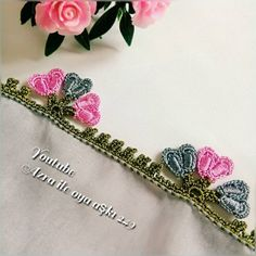 Duppata Style, Diy And Crafts, Hair Accessories, Traditional, Crocheting, Ornaments, Hair Accessory