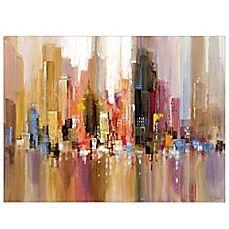 image of City Spree Canvas Wall Art