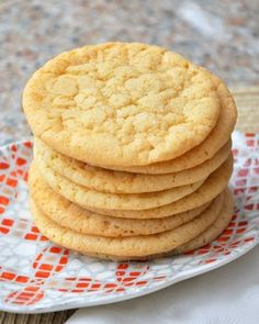 vanilla sugar----sugar cookies - I love sugar cookies, and on the Farm there won't be store-bought cookies so I have to have great recipes for all kinds of cookies