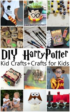 I want to make all of these kid crafts and crafts for kids. Fabulous Harry…