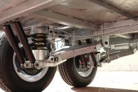 Kessner Trailers :: 8x5 Galvanised Independent Suspension Tandem + Brakes with Cage