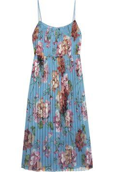 Gucci | Floral-print stretch-silk dress | NET-A-PORTER.COM