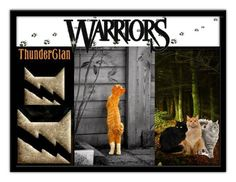 """""""My Warrior Cat"""" by sa-rlow ❤ liked on Polyvore featuring art"""