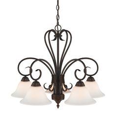 Wildon Home ® Sienna 5 Light Nook Chandelier