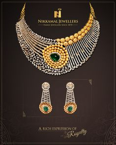 A Rich Expression of Royalty!!  Buy it at Nikkamal Jewellers, Ludhiana & Jalandhar Showrooms