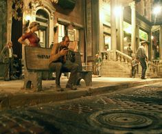 "A miniature street scene from artist Michael Garman's ""Magic Town."" Old Colorado City, Colorado. Colorado City, Tiny World, Small Towns, Shadow Box, Storytelling, Backdrops, Scenery, Magic, Urban"