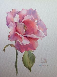 Watercolor without Drawing by Lafe: