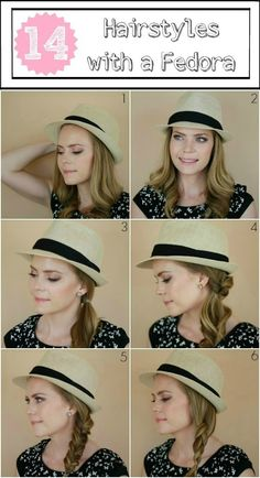 14 Ways to Wear a Fedora - Bonus 15th!