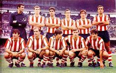 Equipos de fútbol: ATLÉTICO DE BILBAO contra Barcelona 05/10/1969