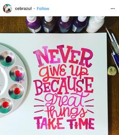 Lettering Inspiration: May Instagram Features. I handpicked ten inspiring examples of lettering from our Instagram community to highlight this month!