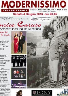 Enrico Caruso,la Voce dei due Mondi @  - 4-Giugno https://www.evensi.it/enrico-carusola-voce-dei-due-mondi/179090075